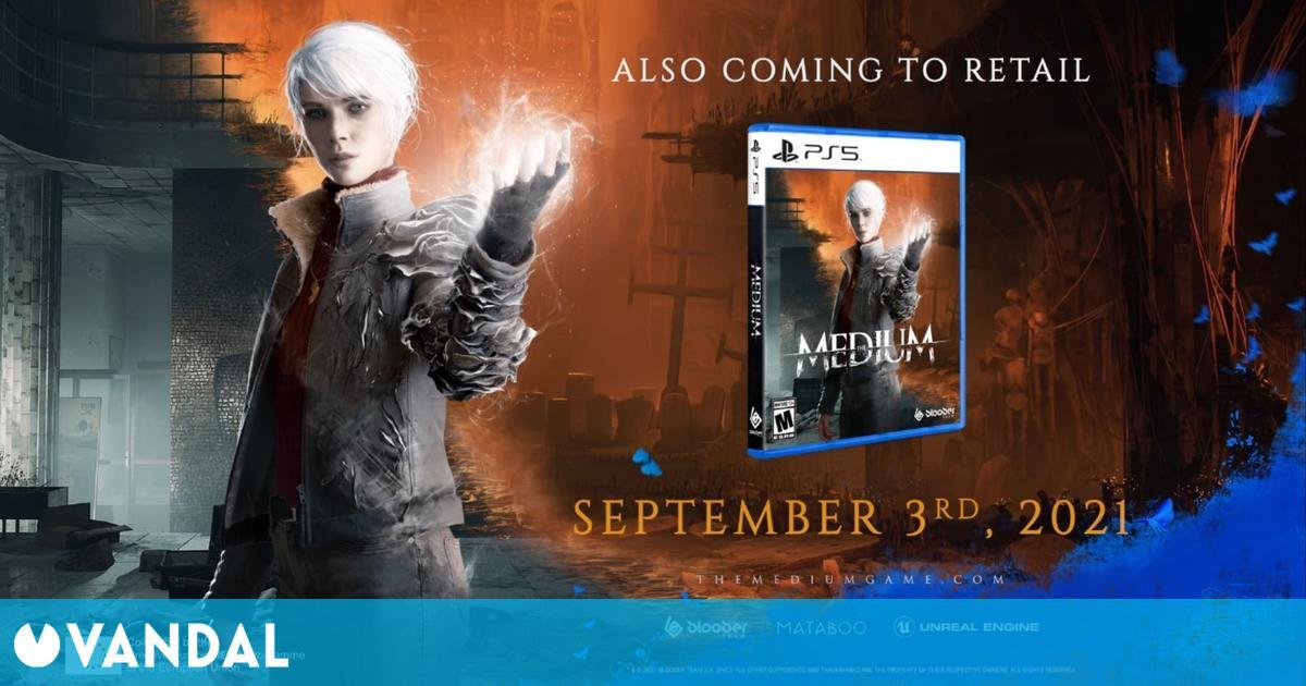 The Medium llegará a PS5 el 3 de septiembre aprovechando la háptica del DualSense