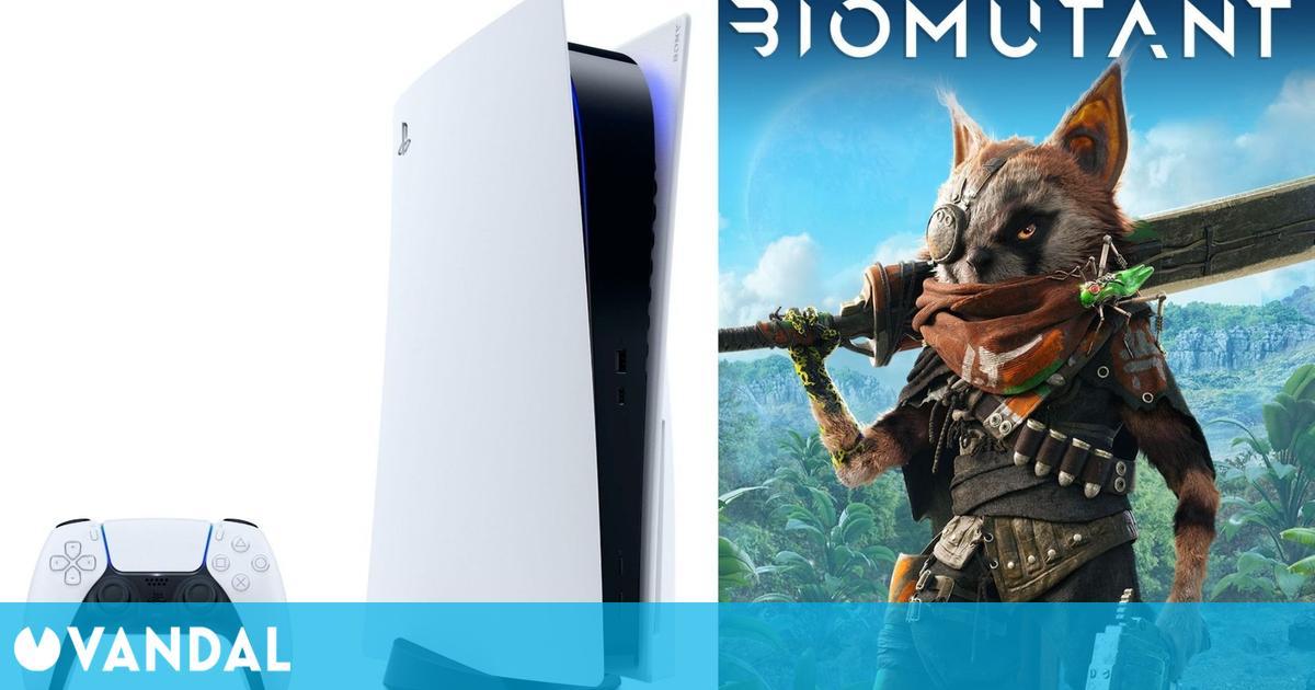 Ventas España 24 al 30 de mayo: PS5 fue la consola más vendida, ¿qué tal vendió Biomutant?