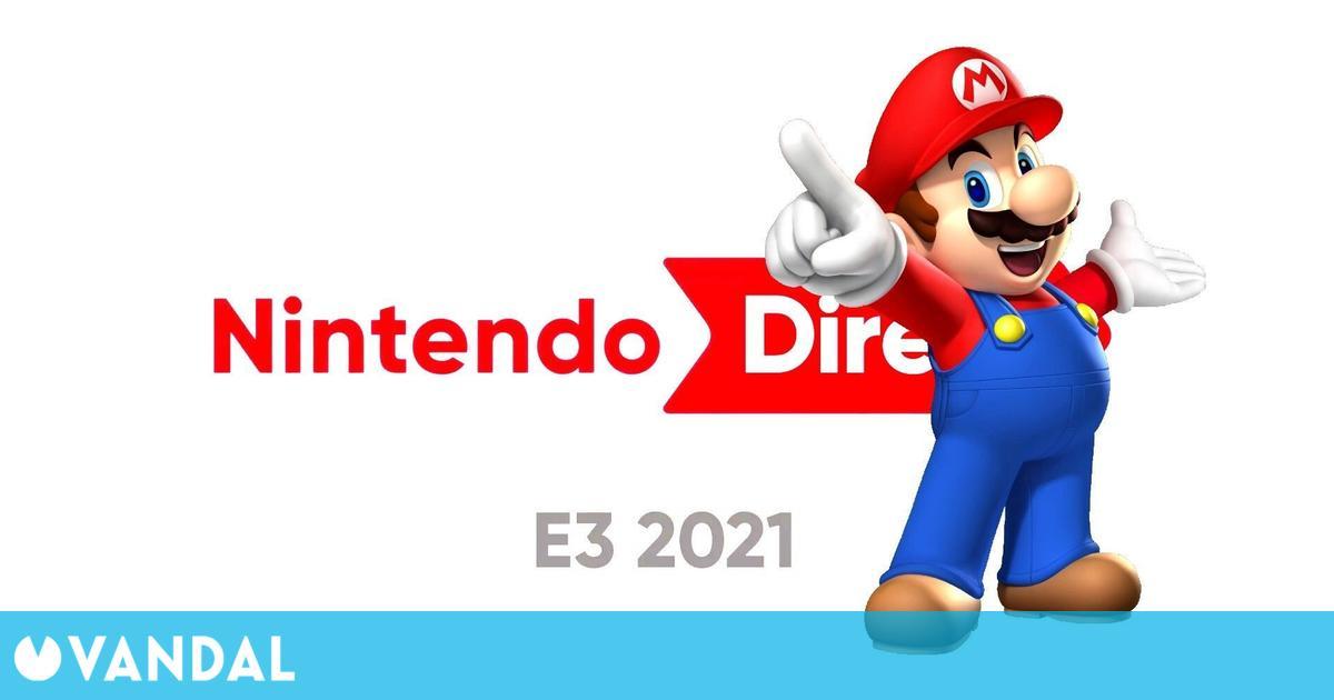 Nintendo fue la conferencia más vista del E3 2021 con 3,1 millones de espectadores