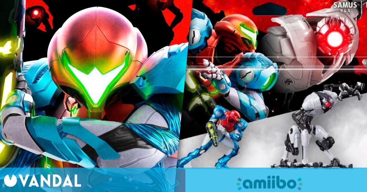 El pack con dos amiibo de Metroid Dread retrasa su lanzamiento en Europa al 5 de noviembre