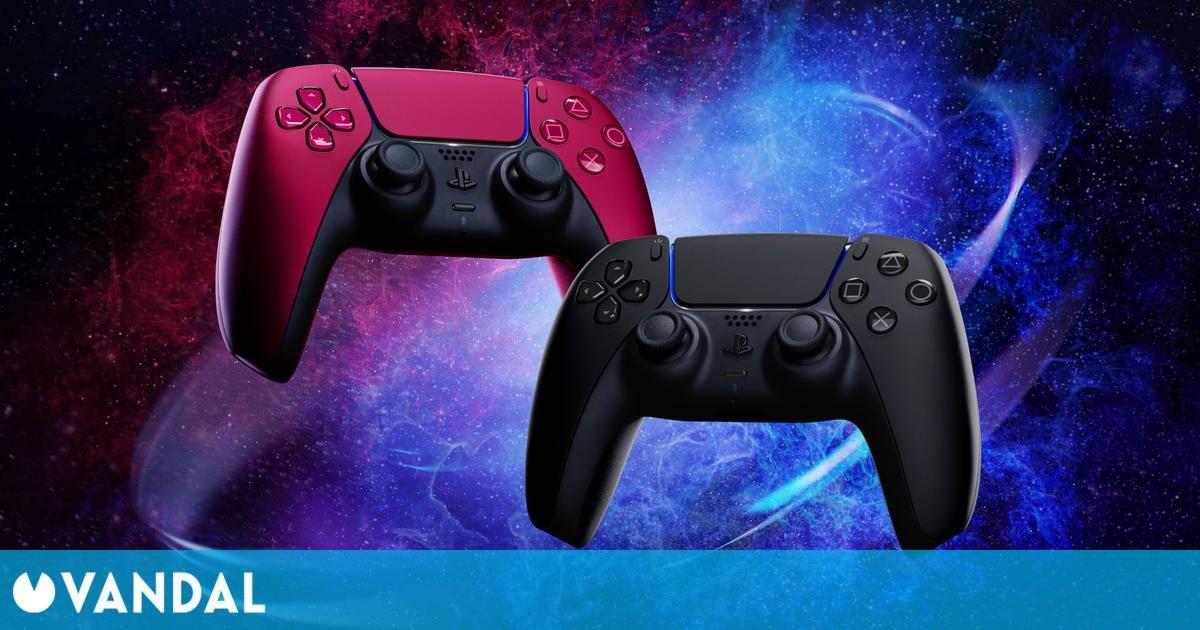 PS5: Ya disponibles los nuevos modelos de DualSense en rojo y negro