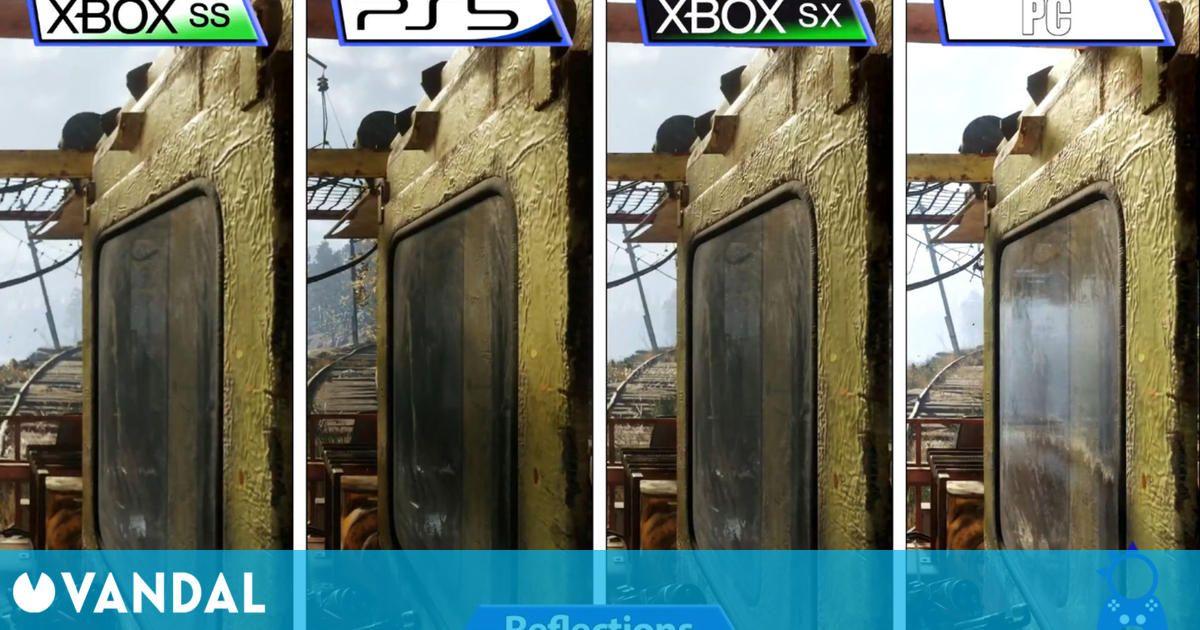 Así es Metro Exodus Complete Edition comparado en PS5, Xbox Series X/S y PC
