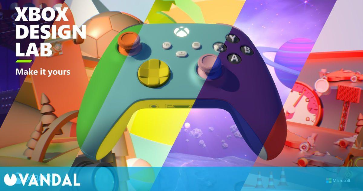 Xbox Design Lab reabre sus puertas con mandos de Xbox Series X/S personalizables