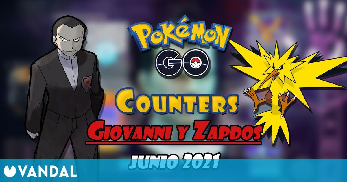 Pokémon GO: Cómo vencer a Giovanni y Zapdos (junio 2021) – Mejores counters
