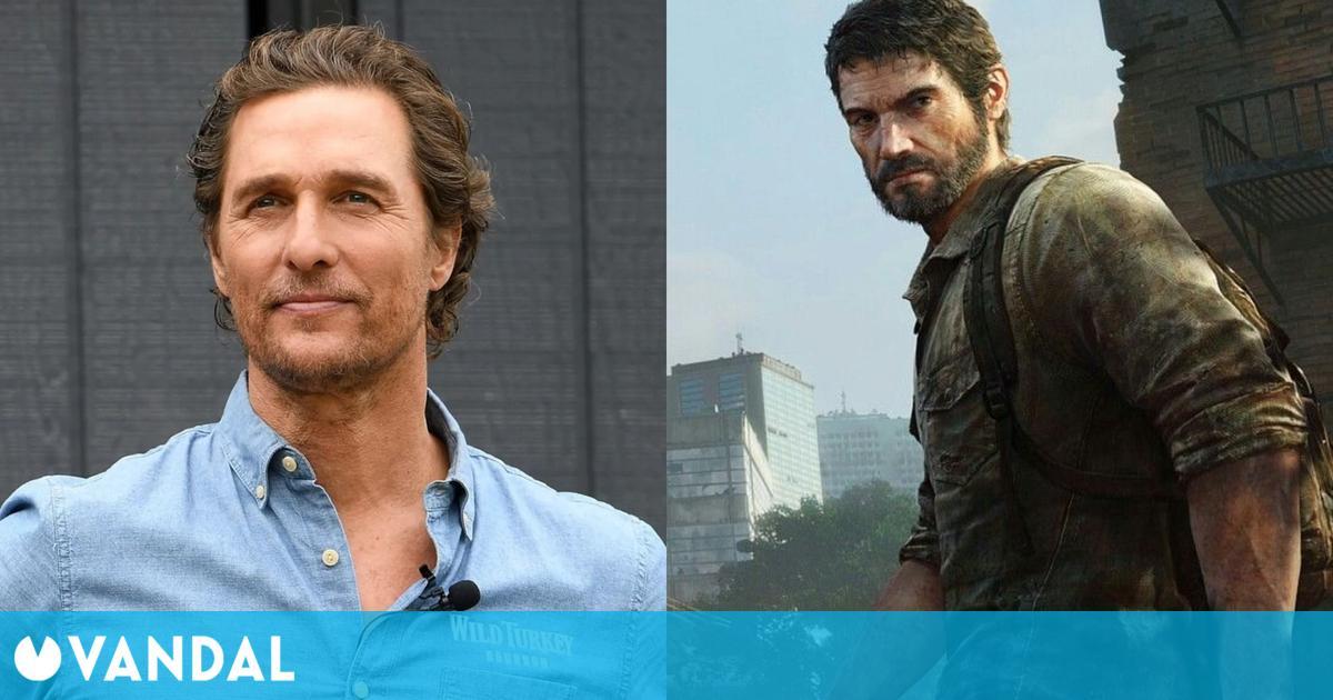 Matthew McConaughey rechazó el papel de Joel en la serie de The Last of Us de HBO