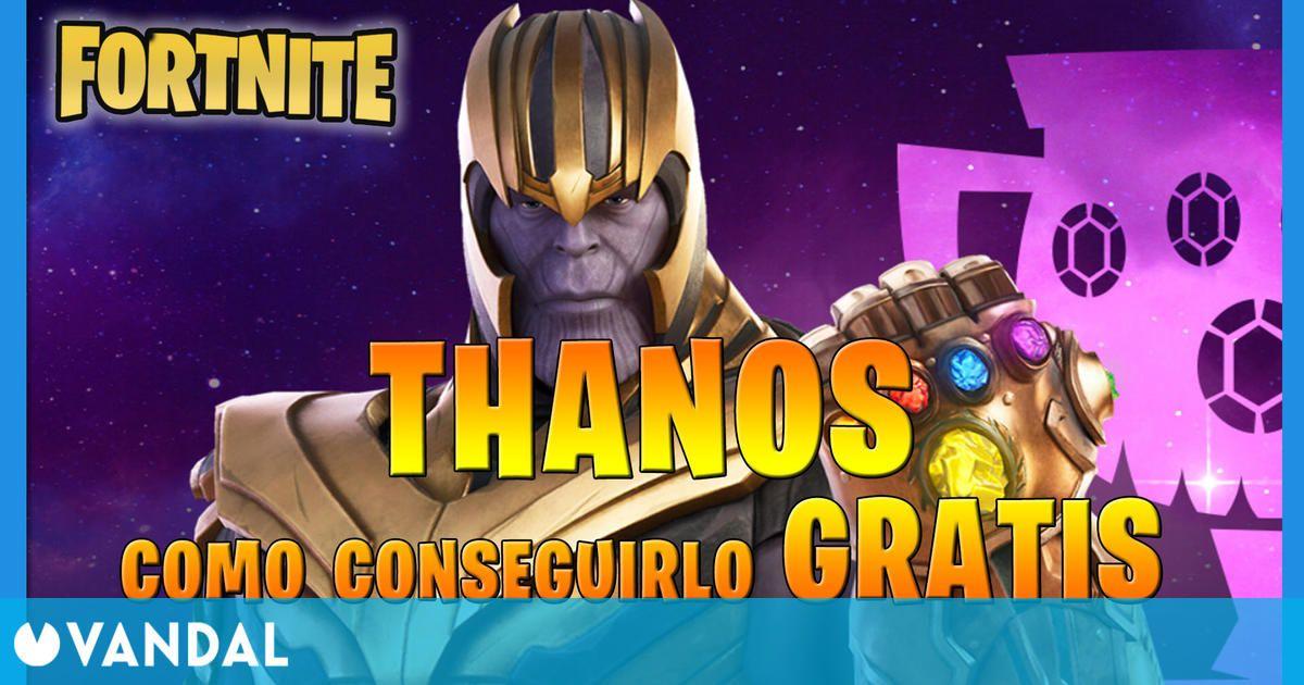 Fortnite: Cómo conseguir a Thanos gratis