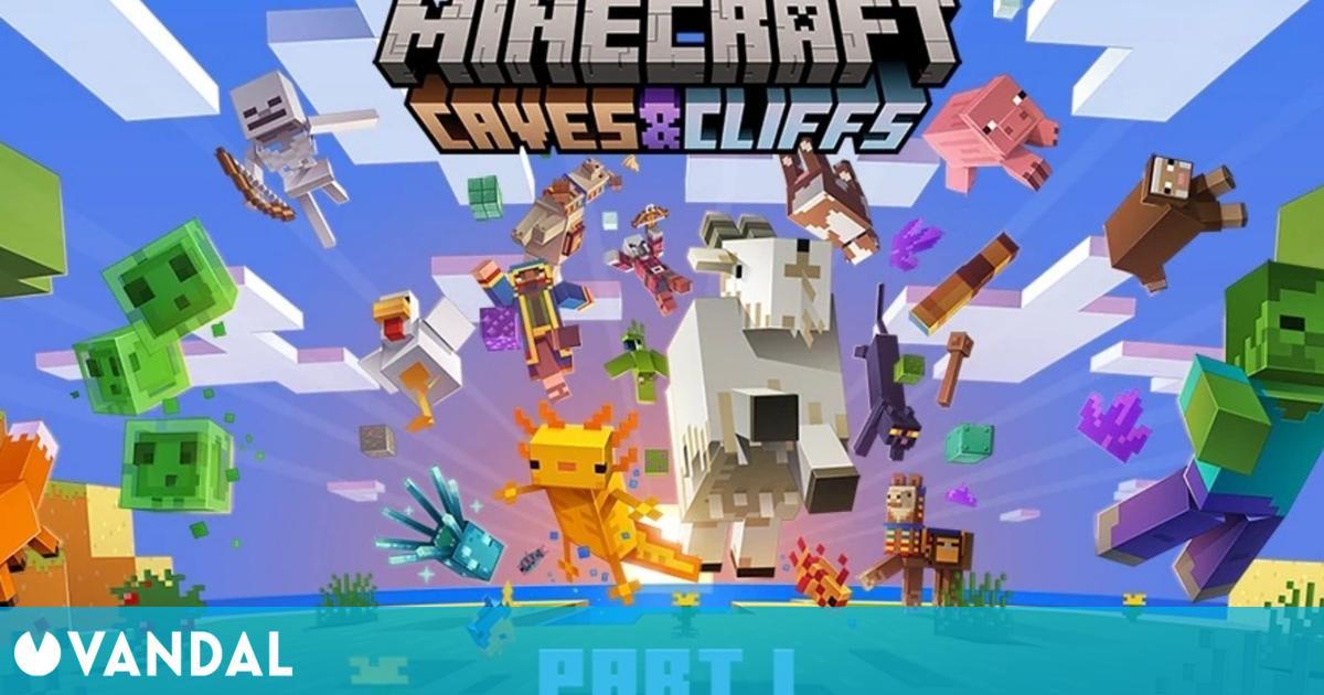 Minecraft recibirá la actualización Caves & Cliffs: Parte 1 el 8 de junio