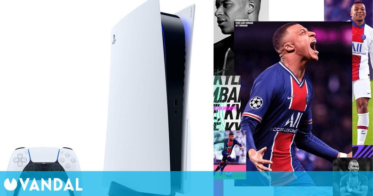 FIFA 21 y PS5 fueron lo más vendido en España en la primera semana de junio