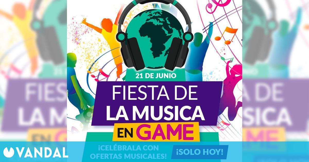 GAME España trae ofertas con motivo de la Fiesta de la música en juegos y accesorios