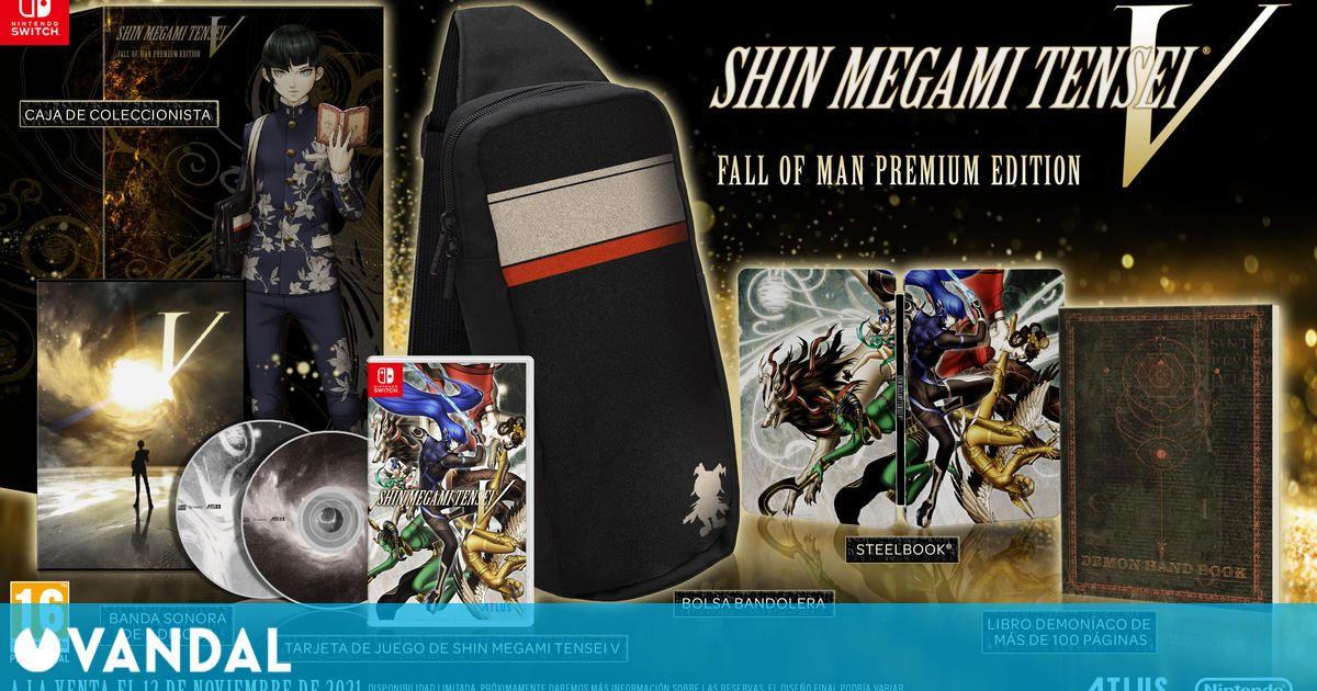 Shin Megami Tensei V tendrá edición coleccionista en España y estrena nuevo tráiler