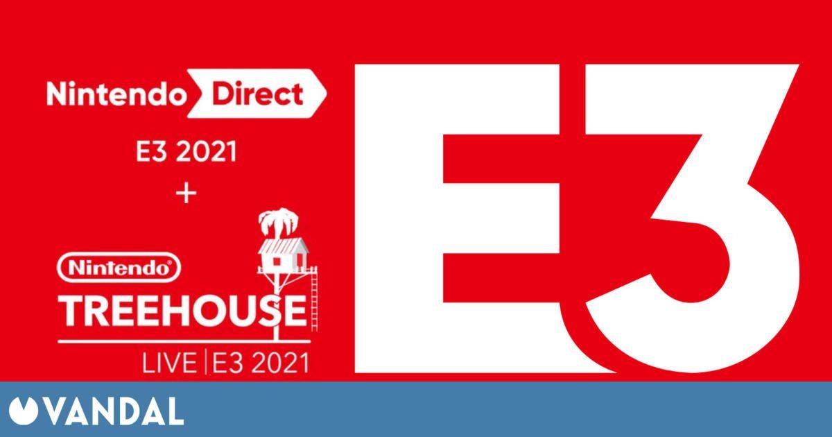 Nintendo celebrará su Direct del E3 2021 el 15 de junio a las 18:00h (hora española)