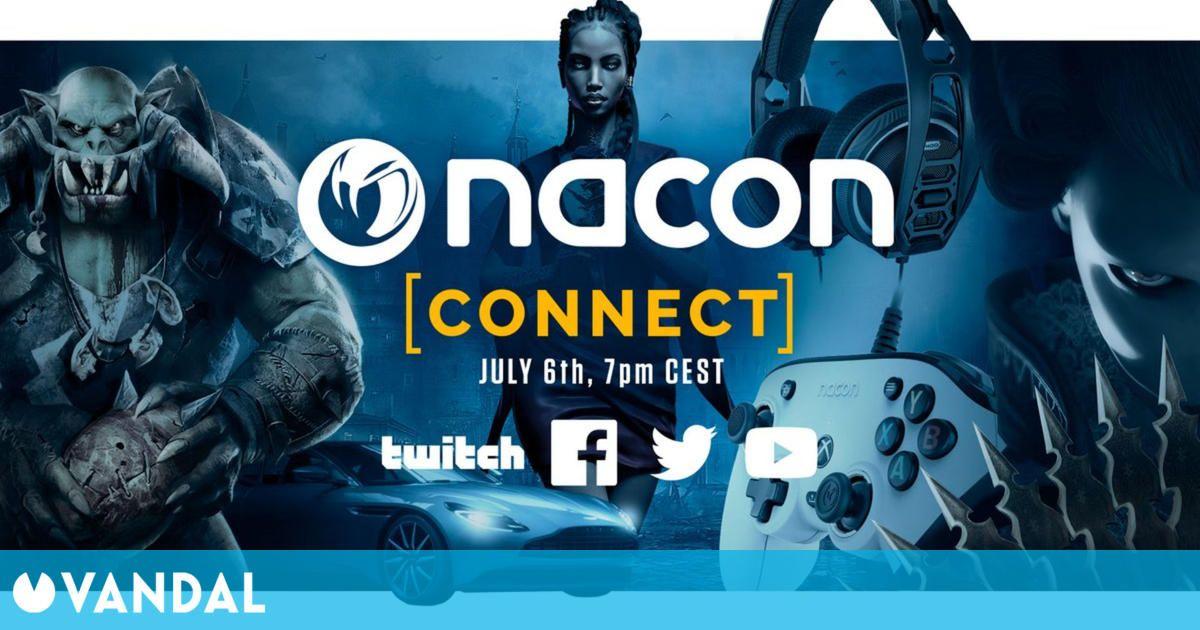 Nacon Connect 2021 se retransmitirá el 6 de julio a las 19:00h (hora española)