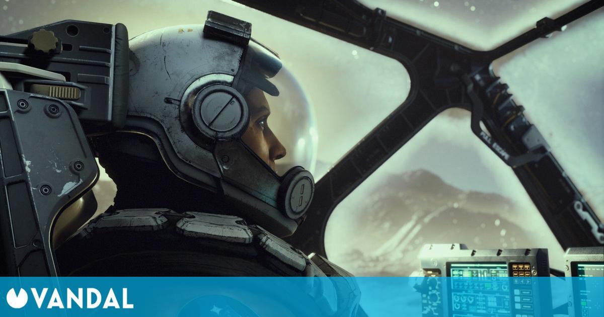 Starfield: El tráiler presentado en el E3 2021 es in-game, usando el motor del juego