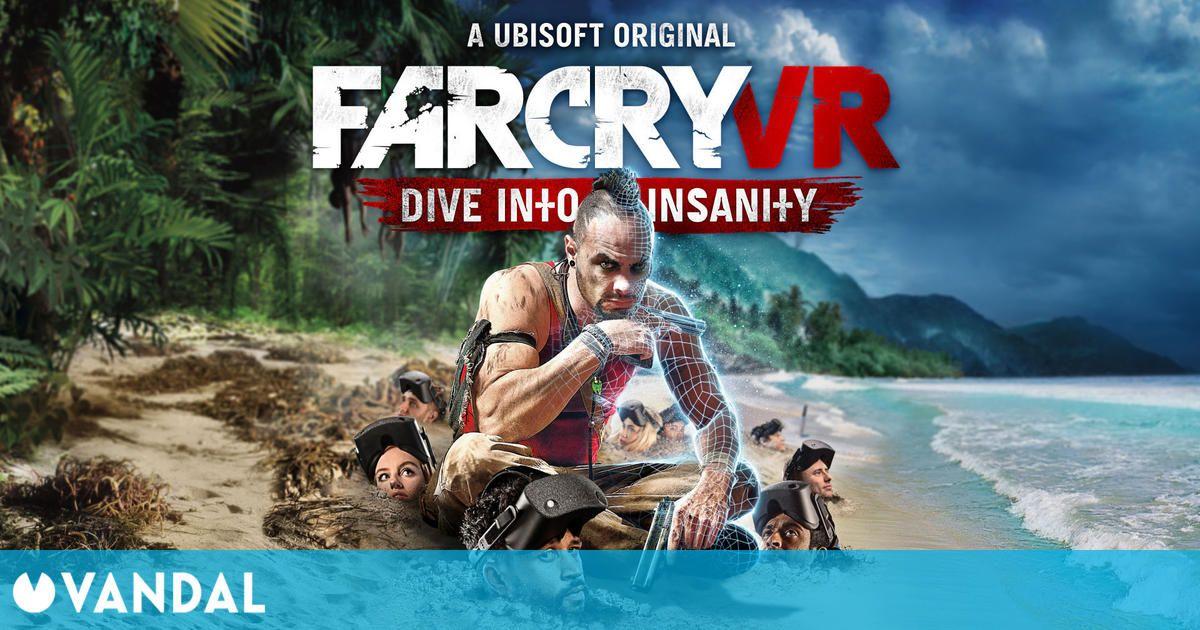 Far Cry VR: Dive into Insanity estará disponible en España a partir del 1 de julio