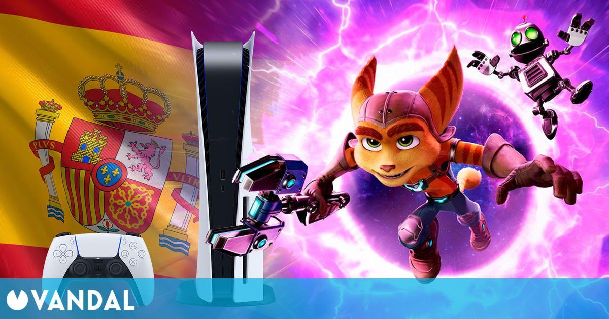 Ratchet & Clank: Una Dimensión Aparte es el mejor lanzamiento de un juego de PS5 en España