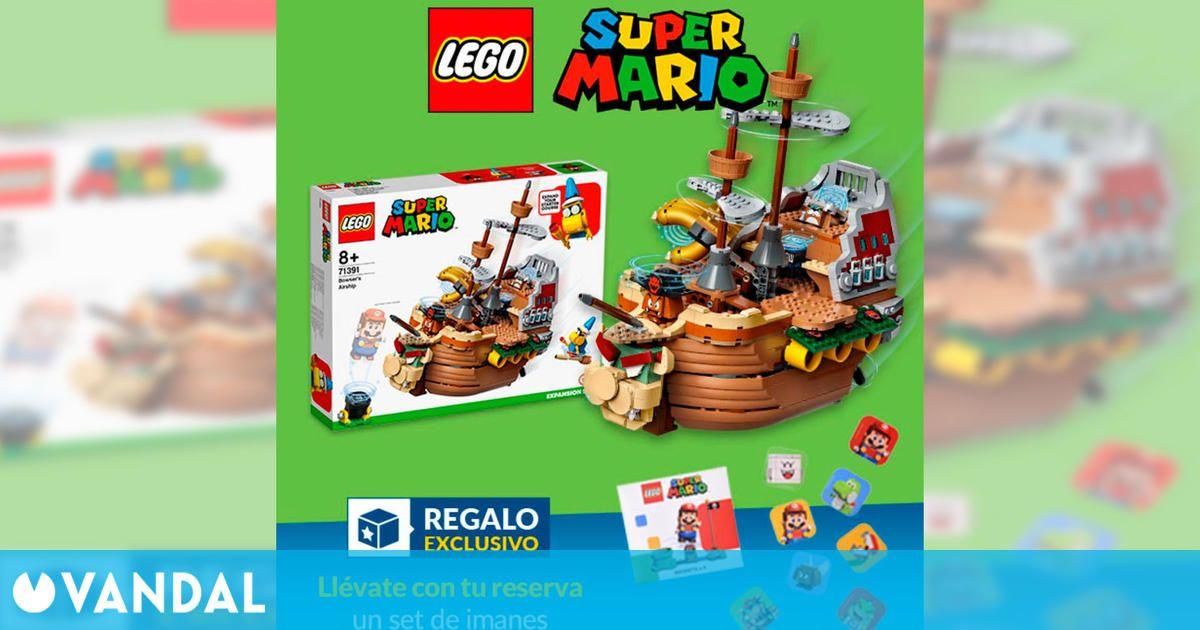 GAME España abre las reservas para LEGO Super Mario: Barco de Bowser