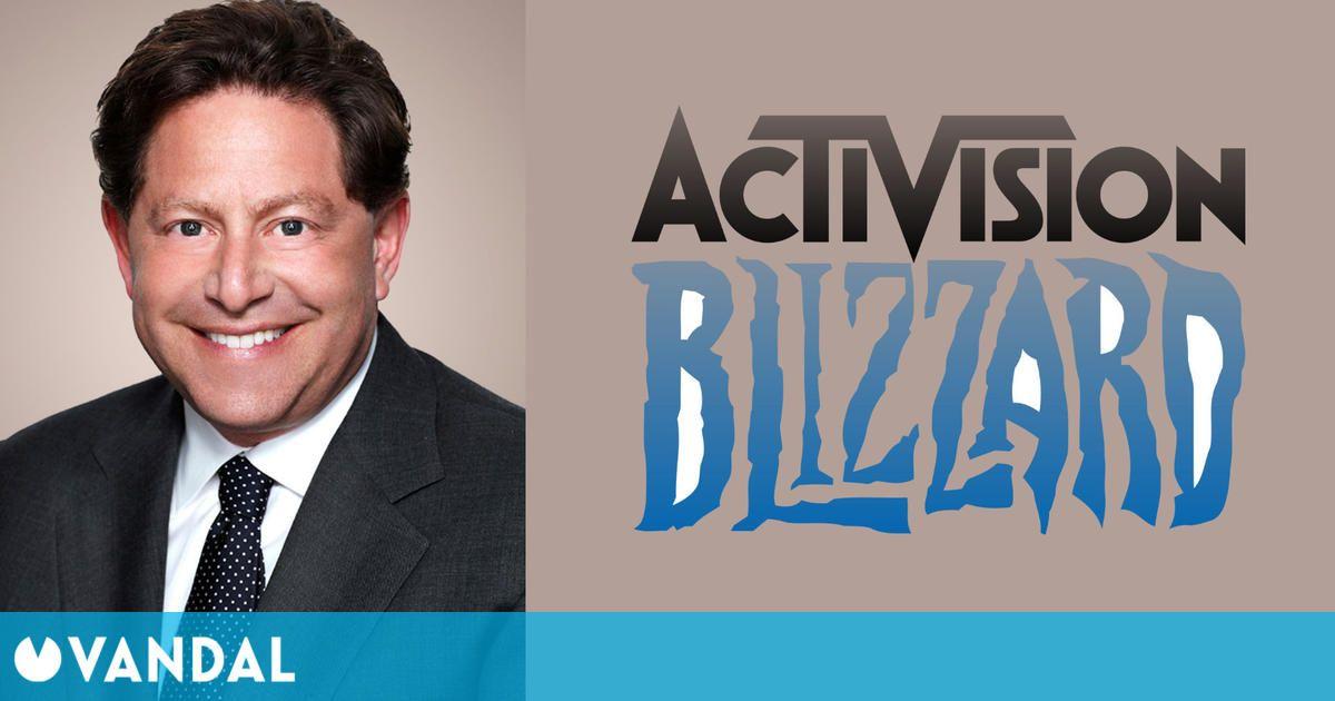 Los accionistas de Activision aprueban el pago de 115 millones de dólares a Bobby Kotick