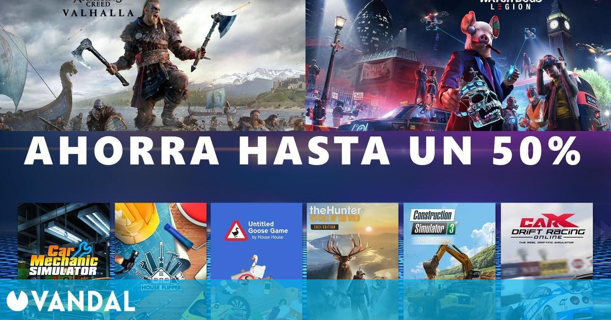 Ofertas Xbox: Descuentos en simuladores y todos los juegos de Ubisoft
