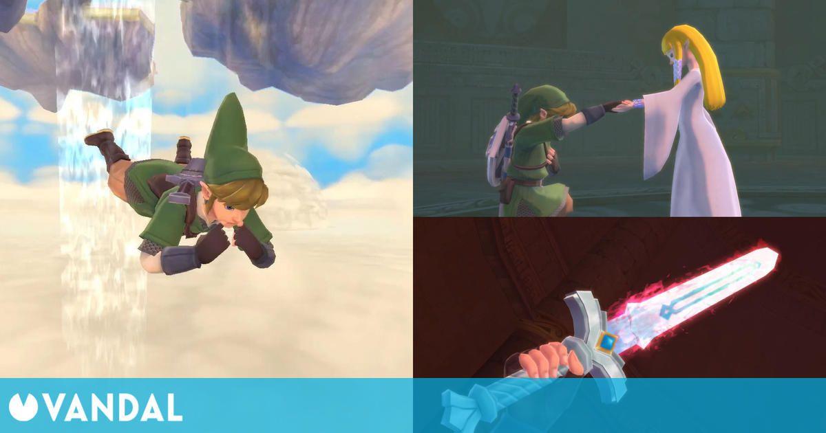 The Legend of Zelda: Skyward Sword HD nos explica todos sus detalles en un nuevo tráiler