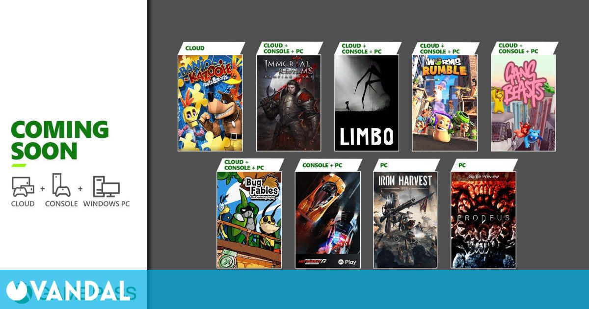 Game Pass anuncia sus nuevos juegos: Iron Harvest, Limbo y Need for Speed…