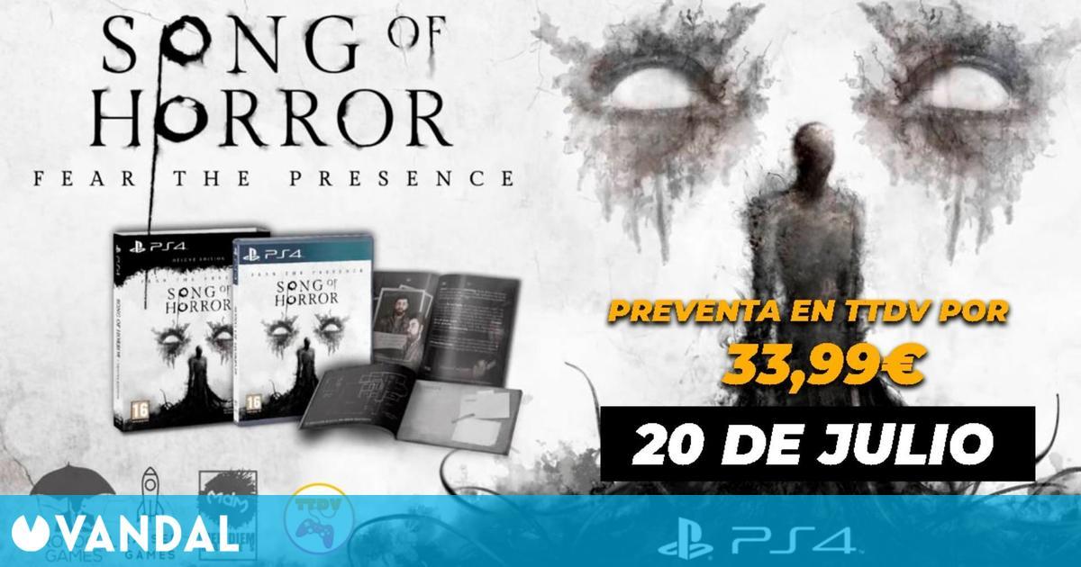Song of Horror: Deluxe Edition ya disponible en preventa en TTDV
