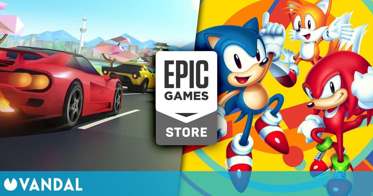 Sonic Mania y Horizon Chase Turbo ya disponibles gratis en Epic Games Store
