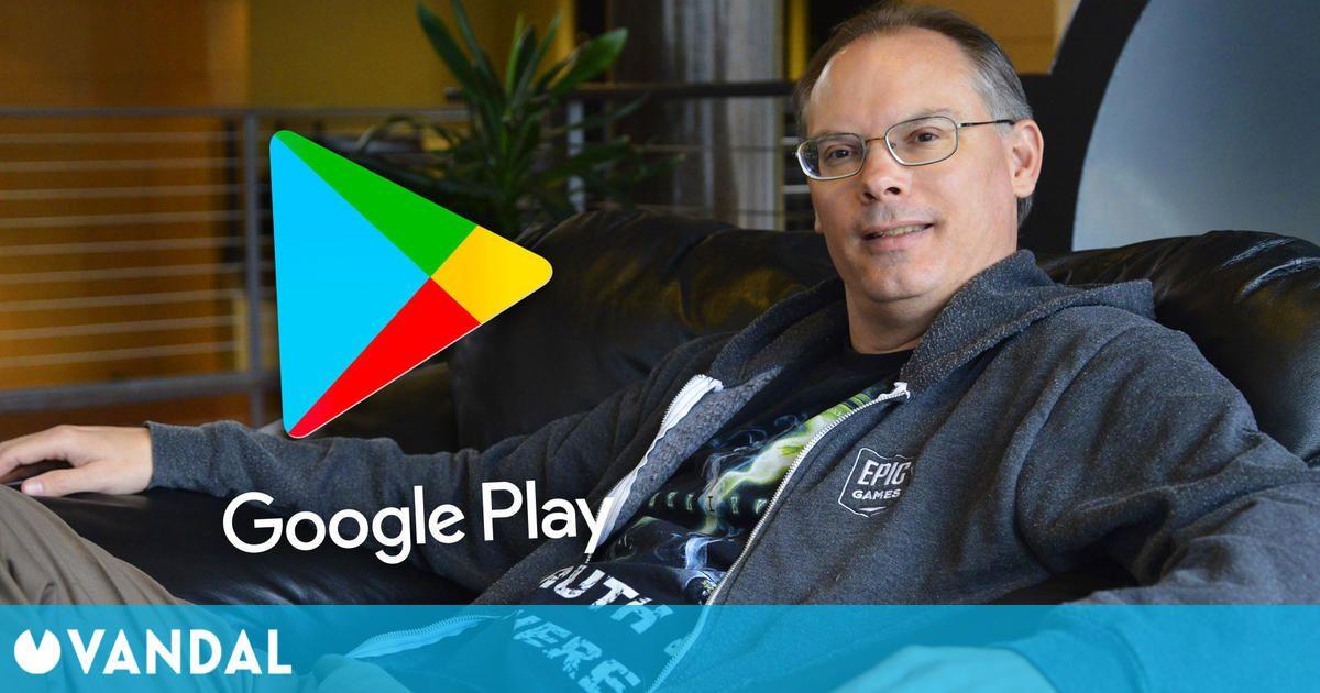 Tim Sweeney, CEO de Epic Games, carga contra Google: 'Es un negocio podrido por dentro'