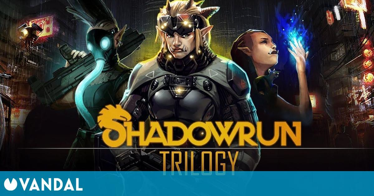 Shadowrun Trilogy, el RPG táctico con cyberpunk y fantasía, está gratis en GOG