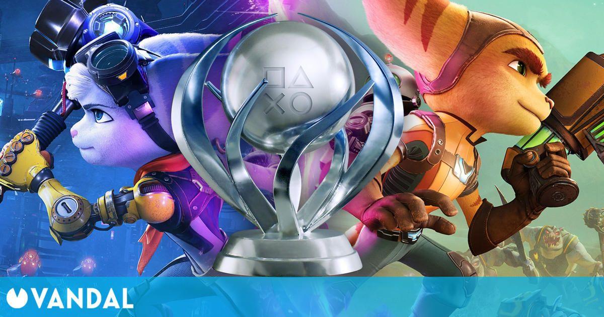Más de la mitad de jugadores de Ratchet and Clank: Rift Apart ya ha conseguido el platino
