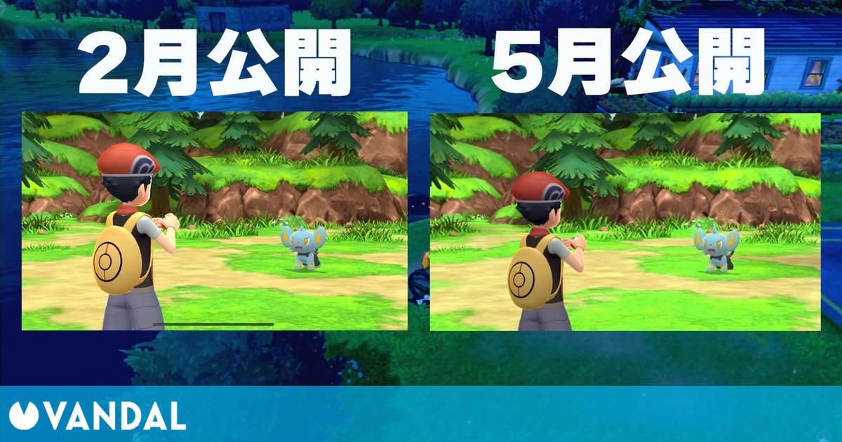 Pokémon Diamante Brillante / Perla Reluciente ha actualizado sus gráficos