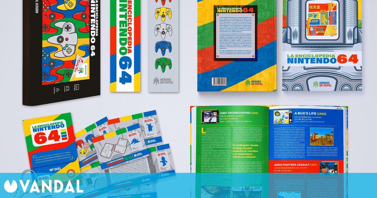 Héroes de Papel publicará La Enciclopedia Nintendo 64 el 21 de septiembre
