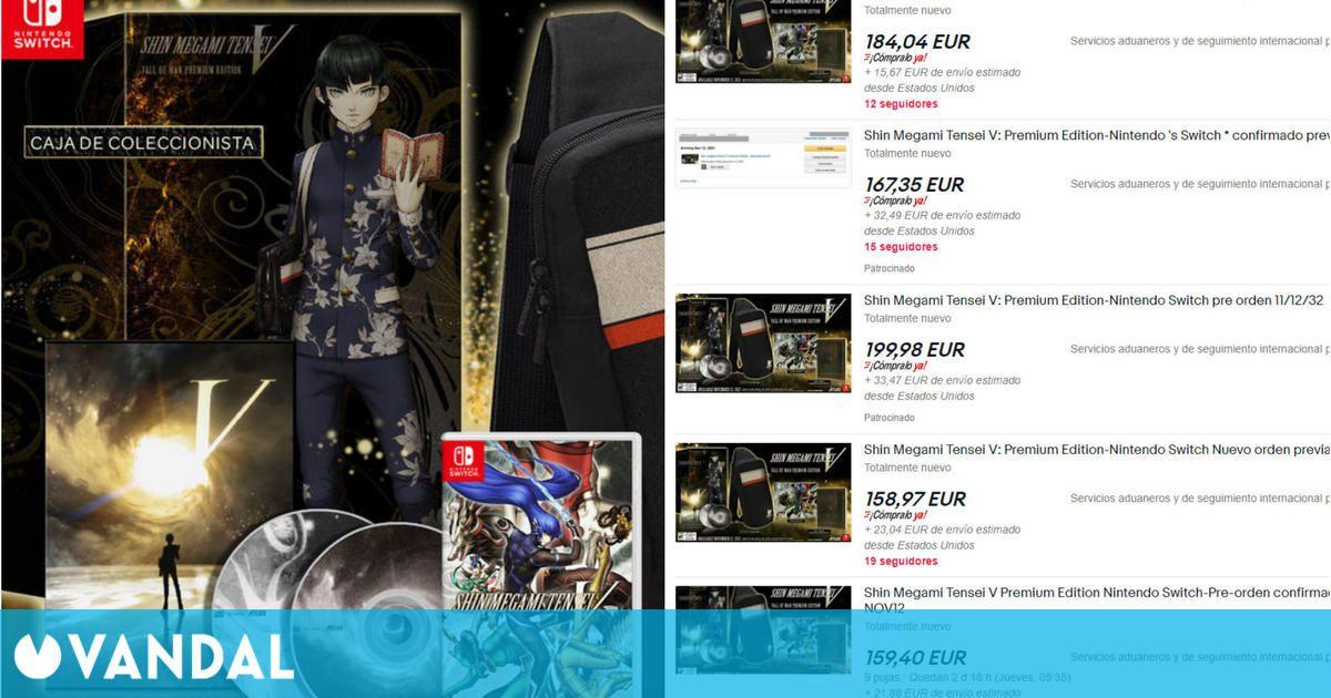 La edición coleccionista de Shin Megami Tensei V, víctima de la especulación