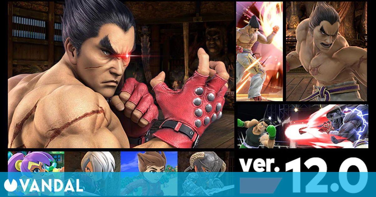 Super Smash Bros. Ultimate recibirá a Kazuya Mishima, de Tekken, el 30 de junio