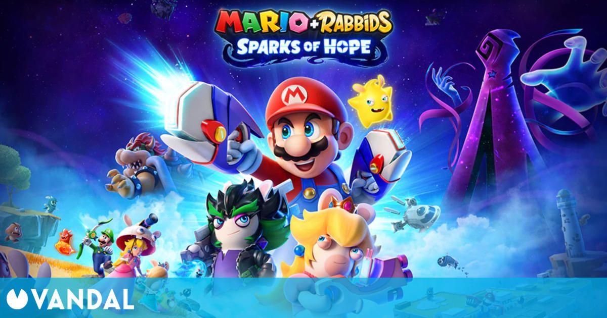 El equipo tras Mario + Rabbids Sparks of Hope es el triple de grande que el del original