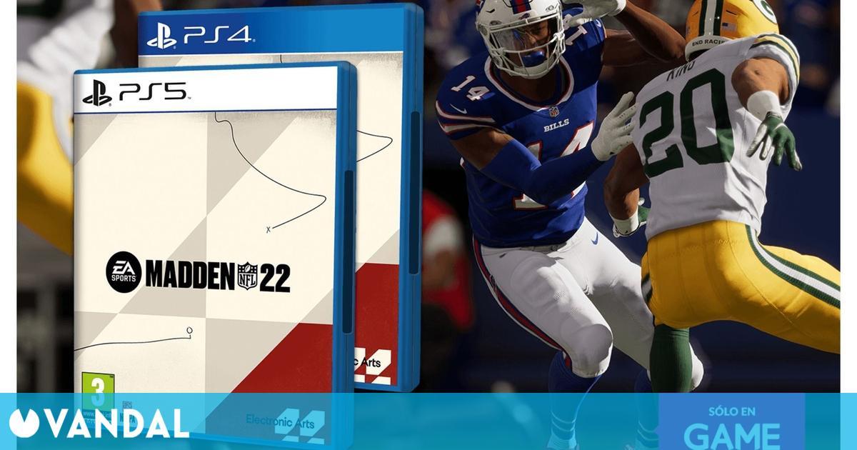 Madden NFL 22: Ya se puede reservar su edición física para PS4 y PS5 exclusiva de GAME