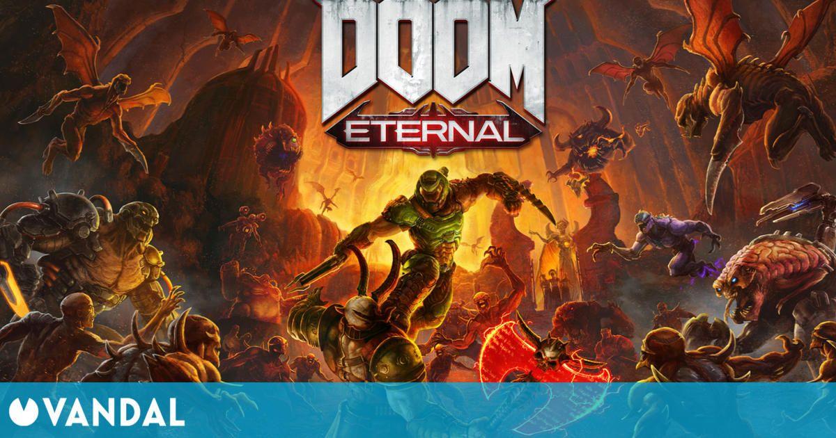 Doom Eternal se actualiza para aprovechar la potencia de PS5 y Xbox Series X/S