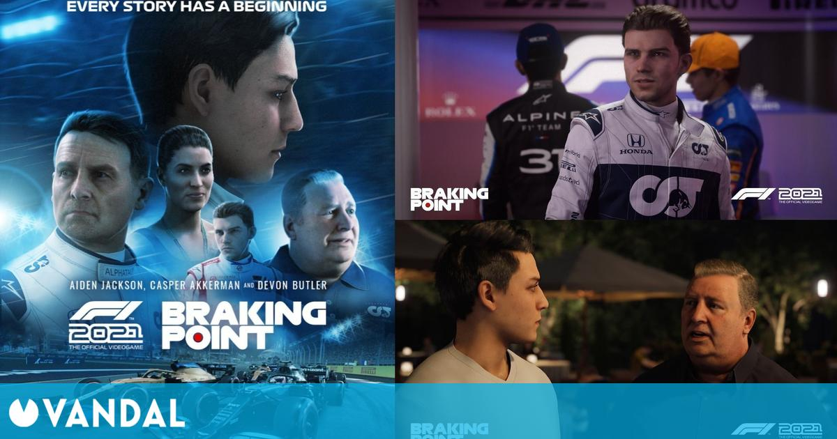 F1 2021: Primeras imágenes y detalles de Braking Point, su emocionante modo historia