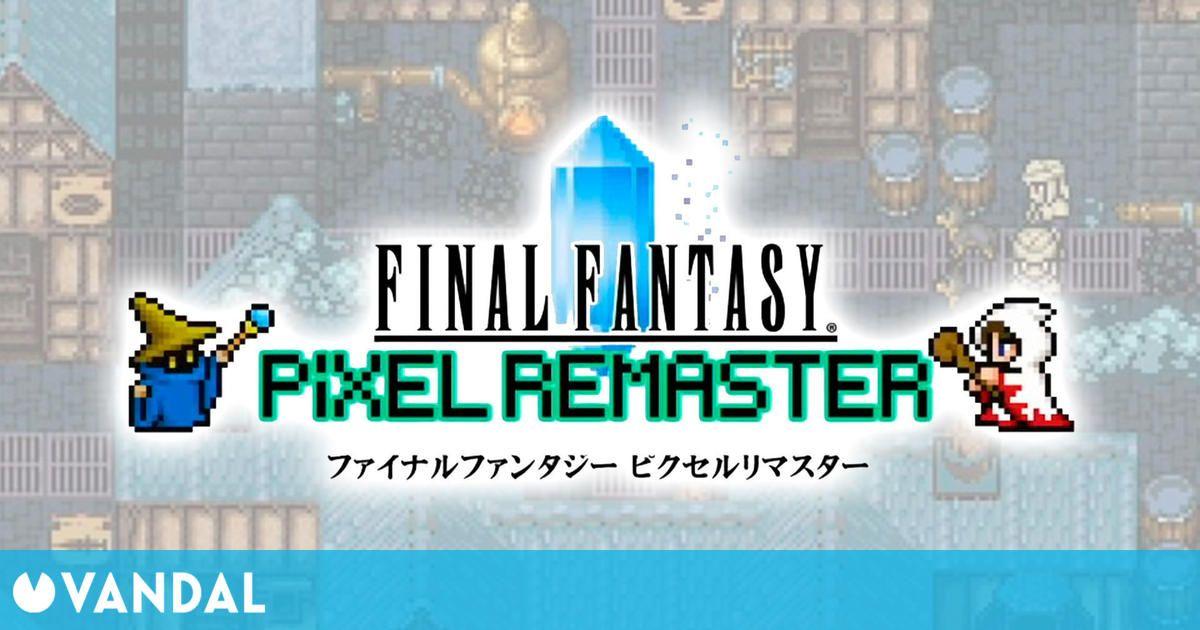 Final Fantasy Pixel Remaster estrenará las tres primeras entregas el 28 de julio