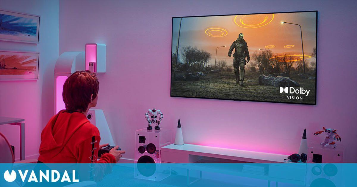 LG actualiza sus TV con Dolby Vision HDR a 4K y 120 Hz para jugar