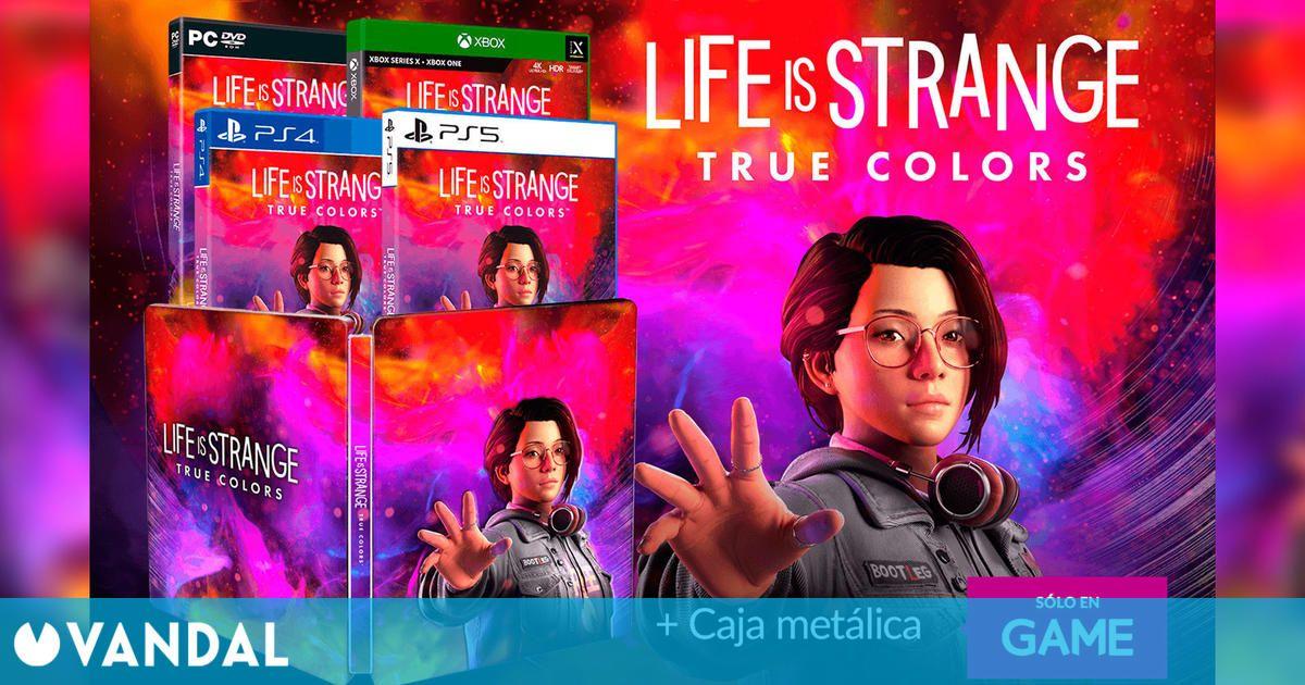 GAME España abre las reservas de Life is Strange: True Colors, con caja metálica de regalo