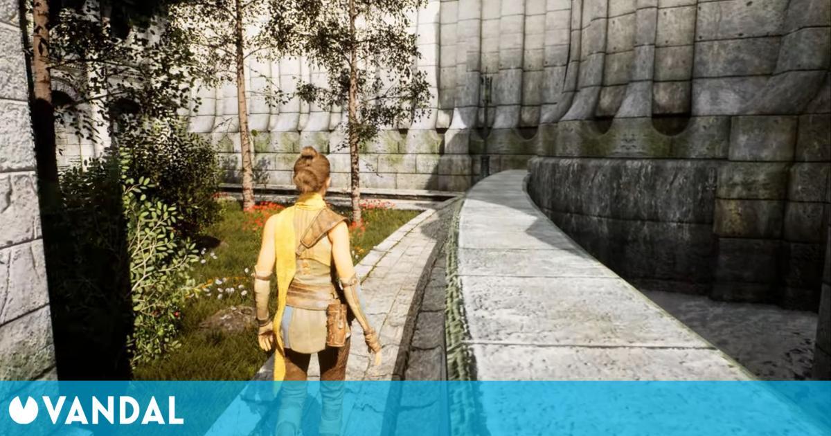 Así de impresionante es The Elder Scrolls IV: Oblivion en Unreal Engine 5