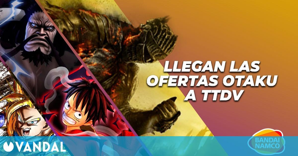TTDV lanza nuevas ofertas en juegos de Bandai Namco: Dark Souls, Dragon Ball, One Piece y más
