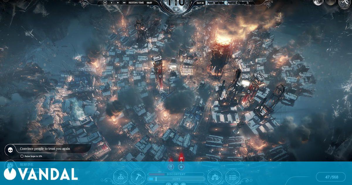 Frostpunk ya disponible gratis en Epic Games Store