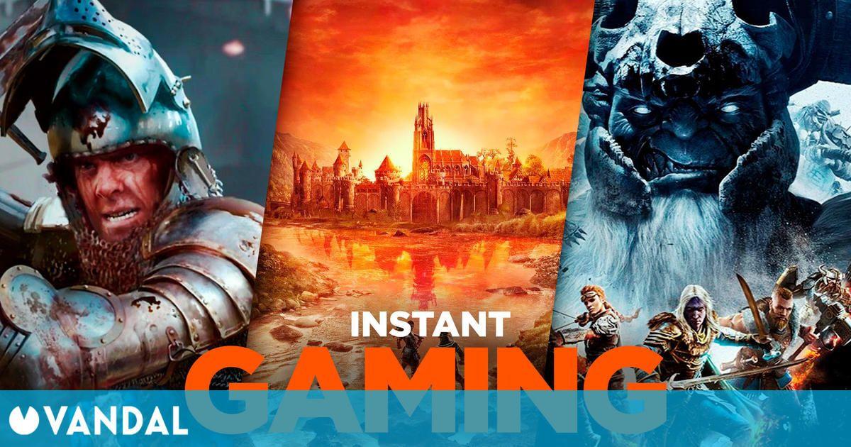 Las 10 mejores ofertas de Instant Gaming para PC el primer fin de semana de junio