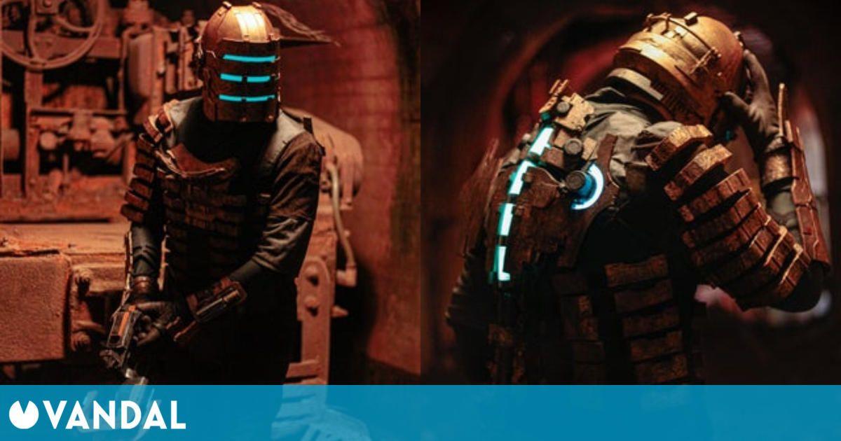 Dead Space: un fan se viste en un espectacular cosplay del videojuego de terror espacial