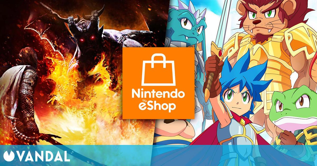 Ofertas Switch: Monster Boy, Dragon's Dogma, Yooka-Laylee and the Impossible Lair y más