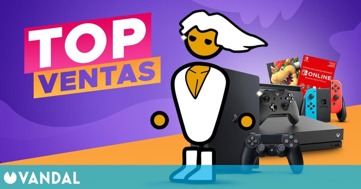 Top ventas de videojuegos y consolas en Eneba y sorteo