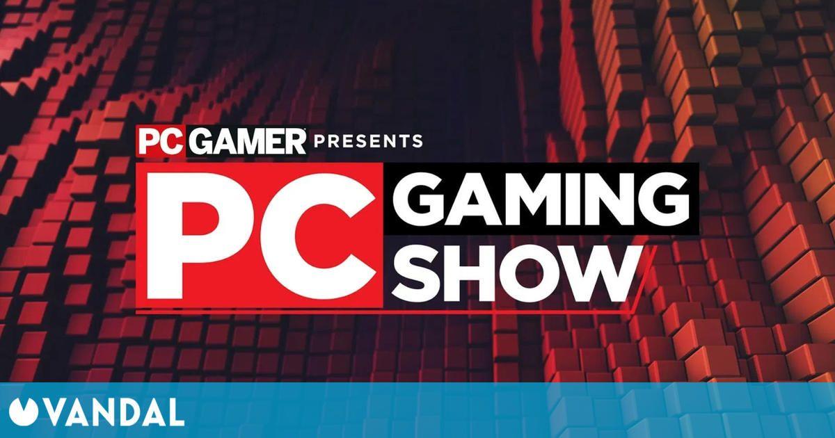 E3 2021: El PC Gaming Show confirma la hora para el 13 de junio y detalla sus contenidos