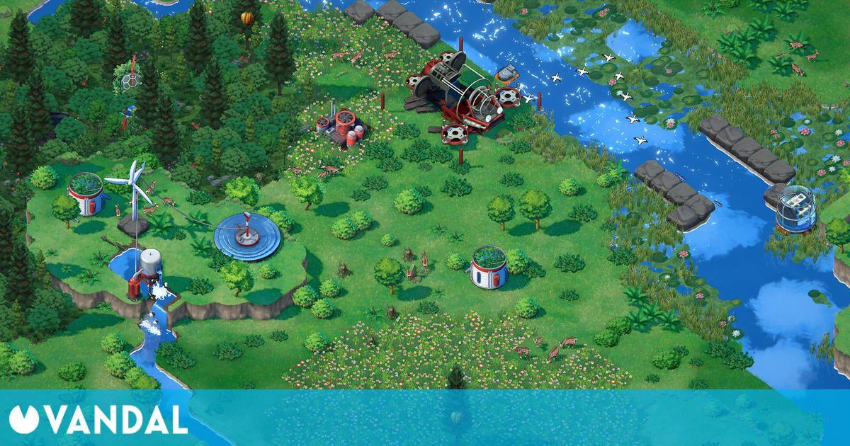 Devolver Digital anuncia Terra Nil, un gestor ecologista que nos reta a restaurar el planeta