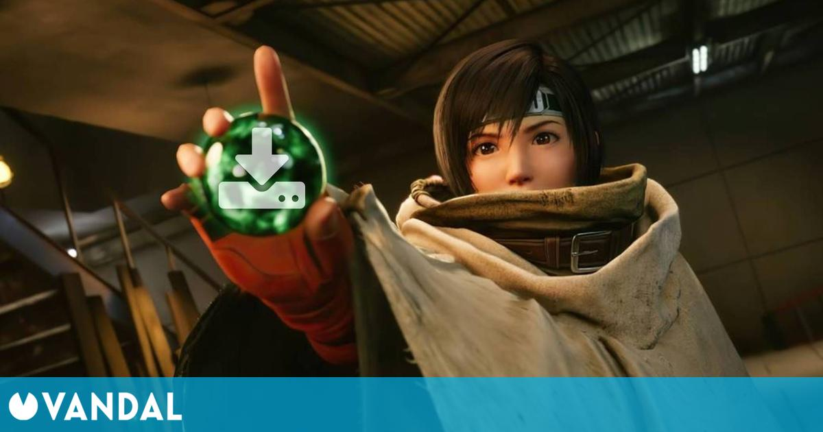 Final Fantasy 7 Remake Intergrade: Episode INTERmission ocupará 9 GB en PS5